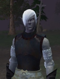 My emo Shadowknight in Everquest II. Yes, I use the alternate models.